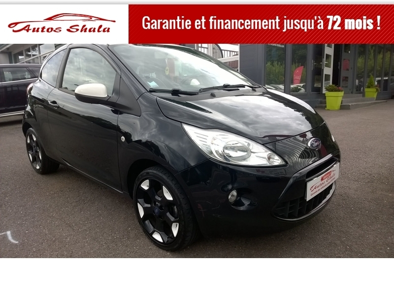 Ford KA 1.2 69CH STOP&START BLACK EDITION Essence NOIR Occasion à vendre