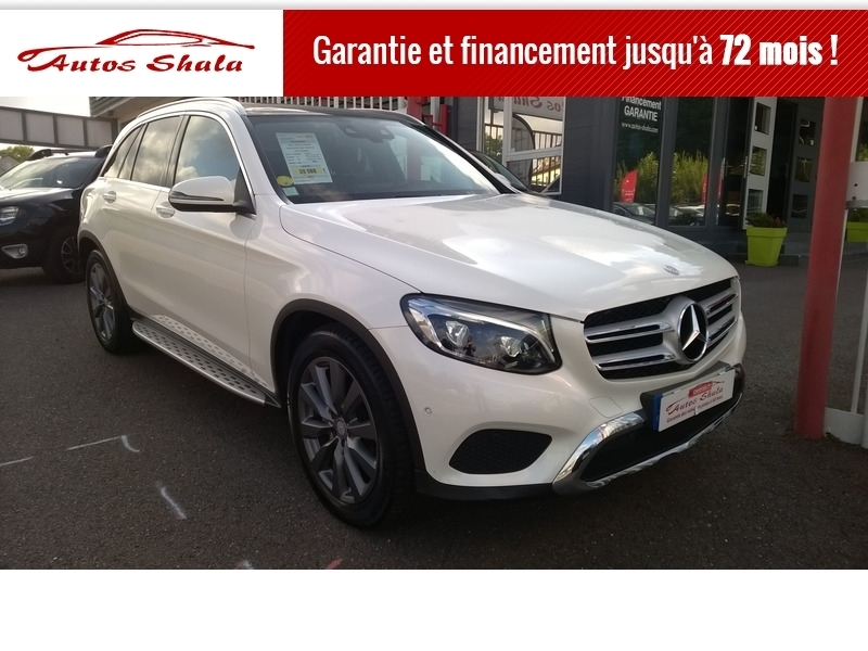 Mercedes-Benz GLC 250 D 204CH FASCINATION 4MATIC 9G-TRONIC Diesel BLANC Occasion à vendre