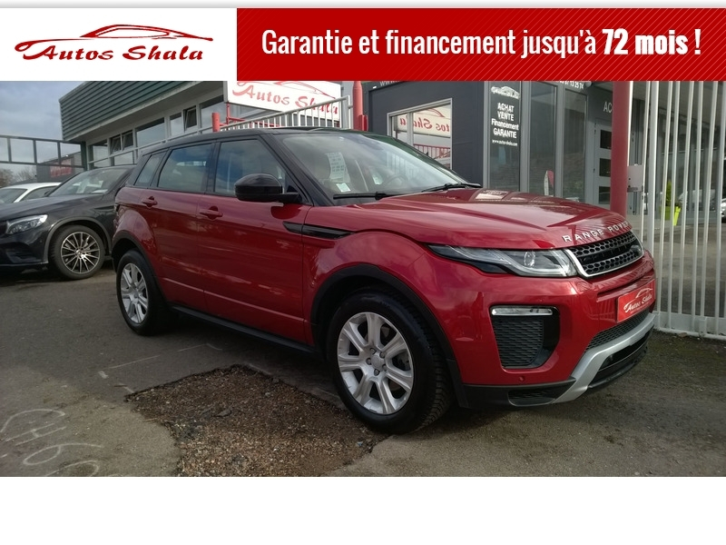 Land-Rover EVOQUE 2.0 TD4 150 HSE DYNAMIC BVA MARK III Diesel ROUGE Occasion à vendre