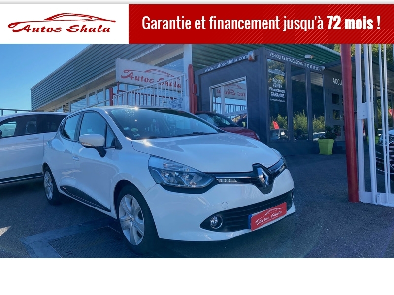 Renault CLIO IV 1.5 DCI 90CH ENERGY BUSINESS ECO² 82G Diesel BLANC Occasion à vendre