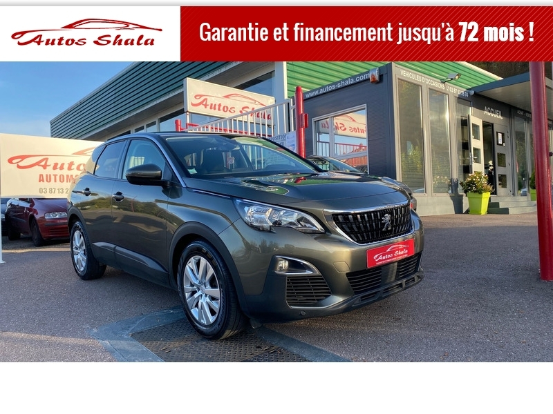 Photo 1 de l'offre de PEUGEOT 3008 1.6 BLUEHDI 120CH ACTIVE BUSINESS S&S EAT6 à 16970€ chez Autos Shala