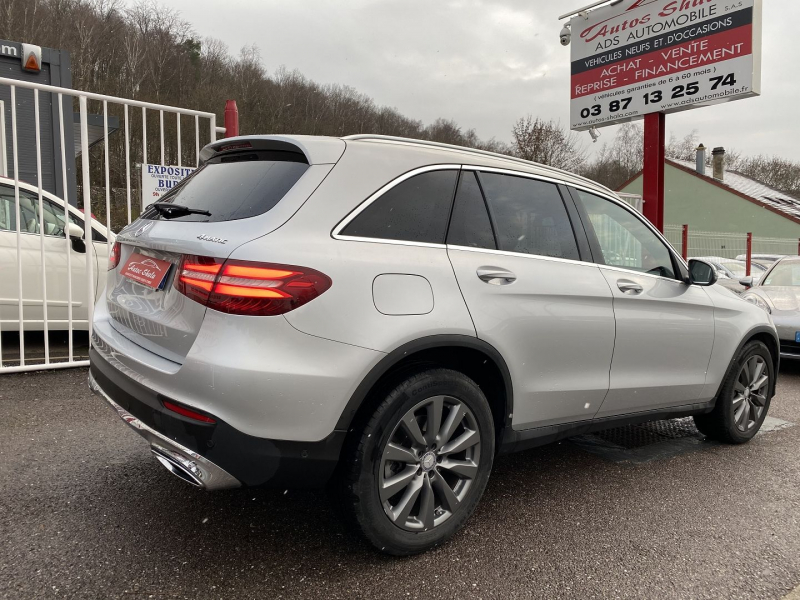 Photo 2 de l'offre de MERCEDES-BENZ GLC 250 D 204CH FASCINATION 4MATIC 9G-TRONIC à 34970€ chez Autos Shala