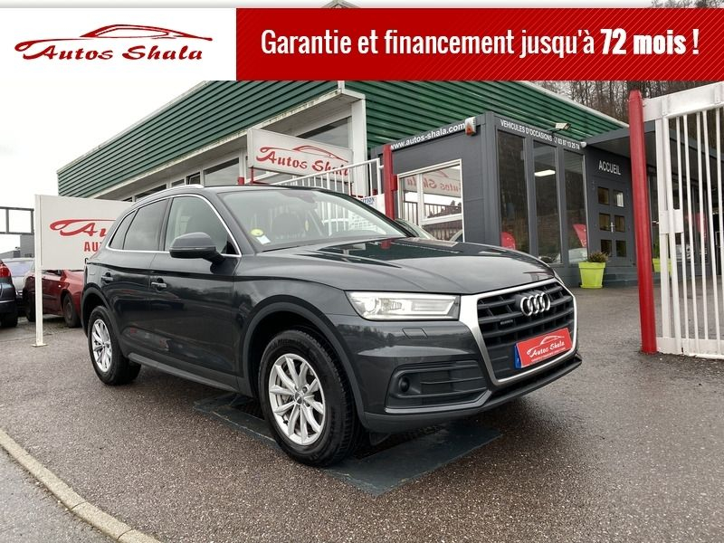 Photo 1 de l'offre de AUDI Q5 2.0 TDI 190CH BUSINESS EXECUTIVE QUATTRO S TRONIC 7 à 34970€ chez Autos Shala